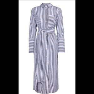 Topshop striped shirt dress size 4